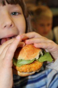 burger zjadany mak callana kulinarki