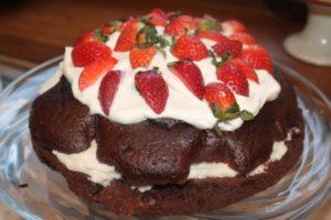 truskawkowy tort mak callana kulinarki